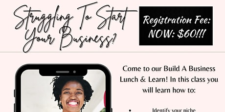 Build A Business Lunch and Learn tickets