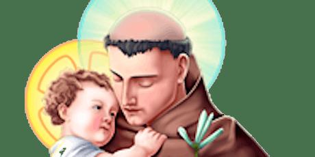 St Anthony Of Padua Sunday Holy Communion Service Registration tickets