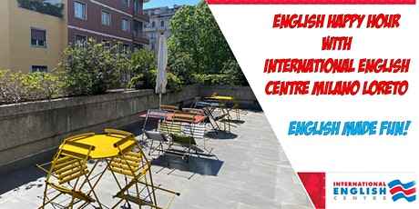 English Happy Hour - Aperitivo all'aperto in inglese biglietti