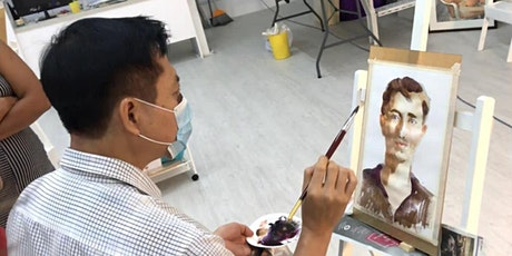 Life Portrait Watercolour Painting Workshop – AZ @ PAYA LEBAR tickets