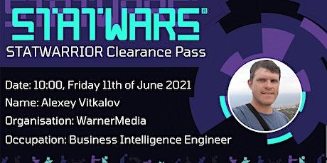 STATWARRIOR Interview: Alexey Vitkalov from WarnerMedia tickets