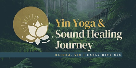 Yin Yoga & Sound Healing Journey tickets