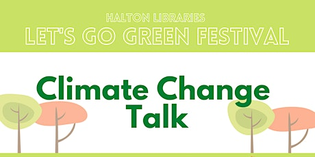 Let's Go Green Festival: climate change talk tickets
