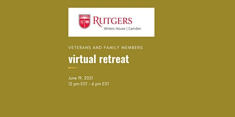 Veterans and Family Members Virtual Retreat tickets