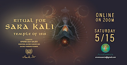 Ritual for  Sara Kali- Temple of Isis tickets