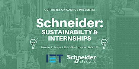 Schneider: Sustainability & Internships tickets