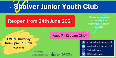 Junior Youth Club tickets