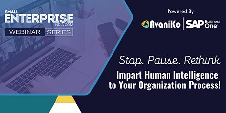Small Enterprise Webinar Series #55 - Stop. Pause. Rethink. tickets