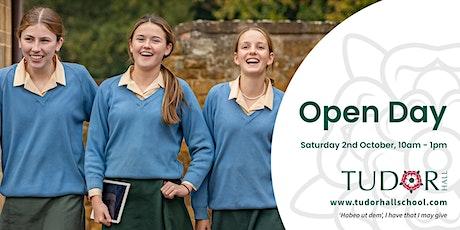 Tudor Hall School Open Day tickets