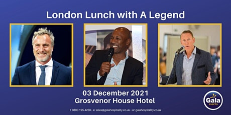 London Lunch with A Legend tickets