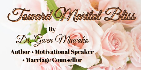 Toward Marital Bliss Book Launch tickets