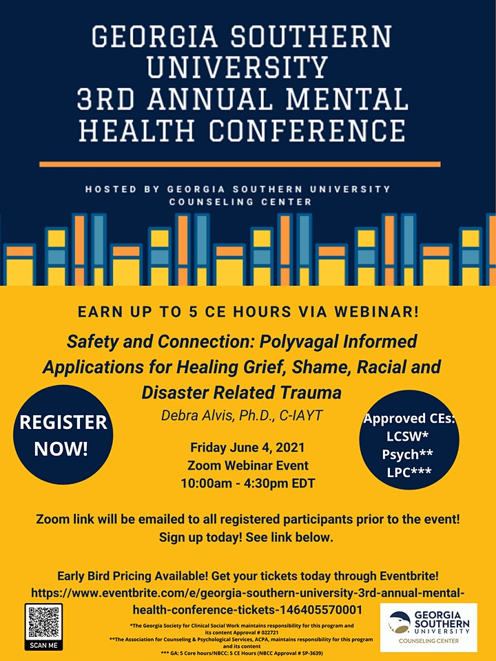 Georgia Southern University 3rd Annual Mental Health Conference image