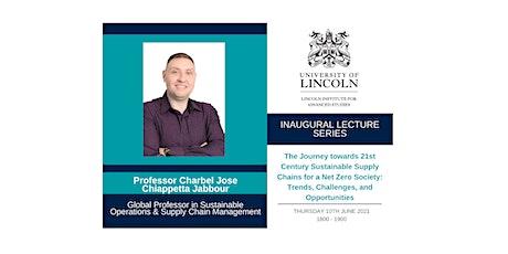 Inaugural Lecture: Professor Charbel Jose Chiappetta Jabbour tickets