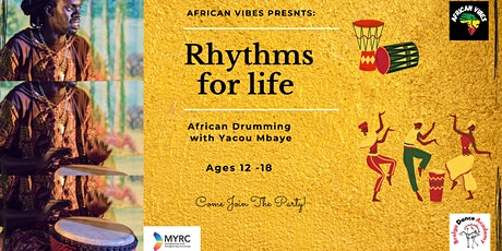 Rhythms For Life : African Drum Workshops for Young People MARRICKVILLE tickets