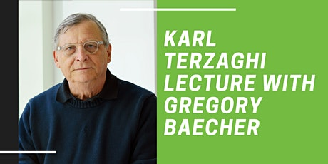 2021 Karl Terzaghi Lecture tickets