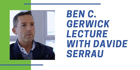 2021 Ben C. Gerwick Lecture tickets