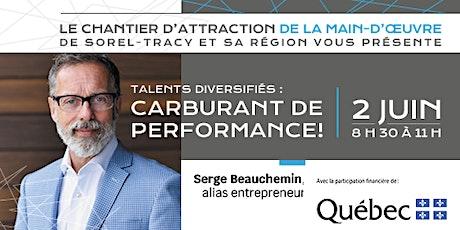 Talents diversifiés : Carburant de performance tickets
