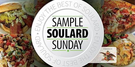 Sample Soulard Sunday 2021 tickets