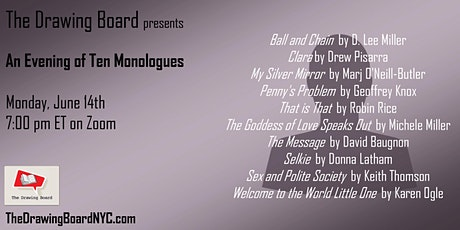 Ten New Monologues tickets