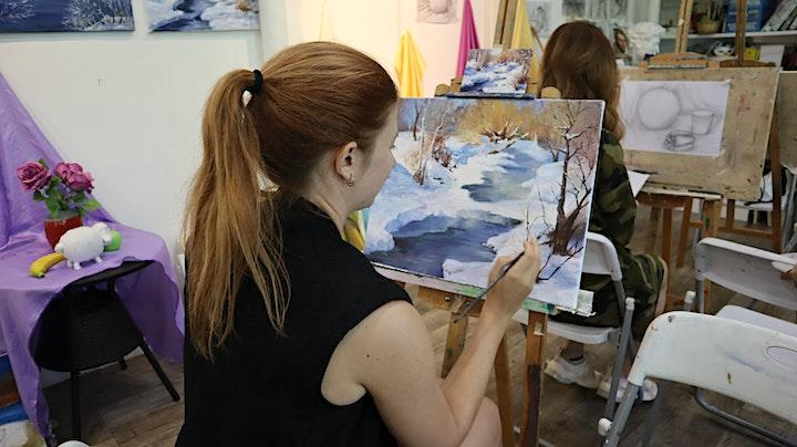 Still Life Oil/Acrylic Painting Course 油画静物课程 (12 sessions) – AZ@Paya Lebar image