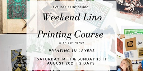 Lino Weekend Course with Ben Hendy (2 days) tickets