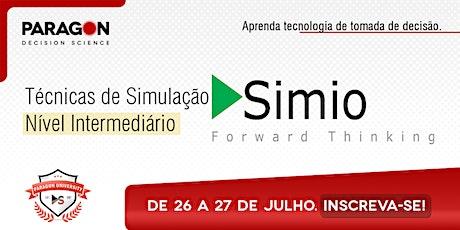 Treinamento Online:Técnicas de Simulação Intermediário Simio-26 a 27 de Jul ingressos