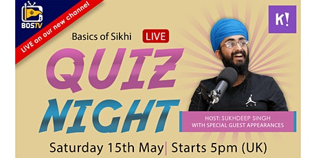 BoS Quiz Night! - Sikh Marriage Week Special! tickets