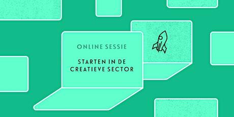 Online sessie starten in de creatieve sector tickets