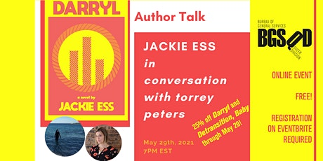 Jackie Ess In Conversation With Torrey Peters tickets