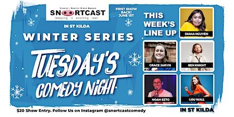 SnortCast Comedy with PB's Pizza Bar St Kilda tickets