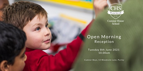 Open Morning, Reception Boys - 8th June 2021 10am tickets
