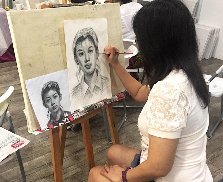 Portrait Drawing Course 肖像绘画课程 (12 Sessions) – AZ @ Paya Lebar image