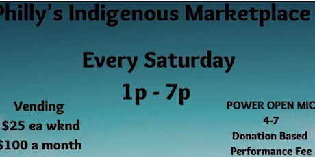 Philly's indigenous marketplace tickets