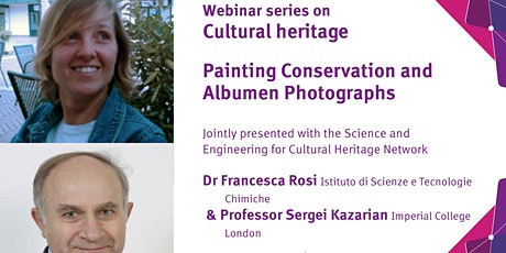 Painting Conservation and Albumen Photographs tickets