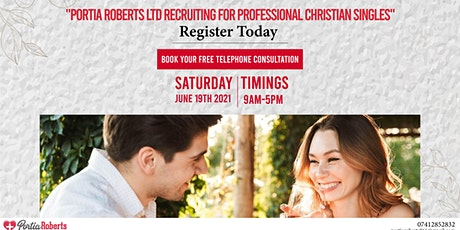 Portia Roberts Ltd Recruiting for Professional Christian Singles tickets