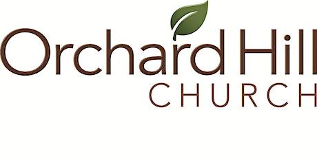 Orchard Hill Church Butler, Worship Service, Masks Encouraged tickets