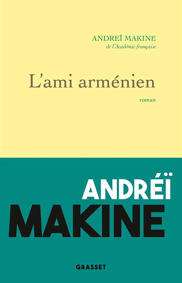 Image pour Andreï Makine et JC Buisson au Dialogue Franco-Russe