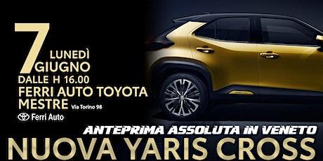 Presentazione Yaris Cross Mestre biglietti