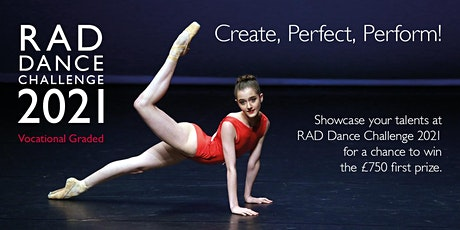 RAD Dance Challenge - Vocational Graded Students (Candidate  Application) tickets