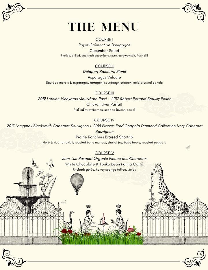 A Garden Harvest Wine Dinner (Culinaire Vine & Dine x Delta Calgary South) image