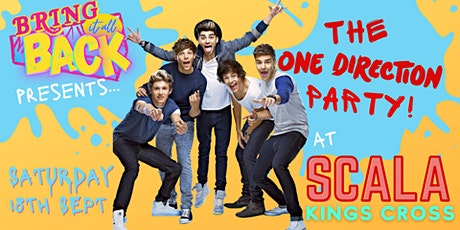 The One Direction Party at SCALA - Kings Cross tickets