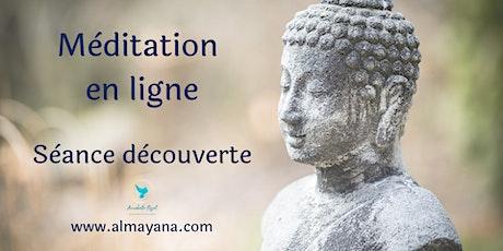 Méditation en ligne - Séance découverte gratuite #2 billets