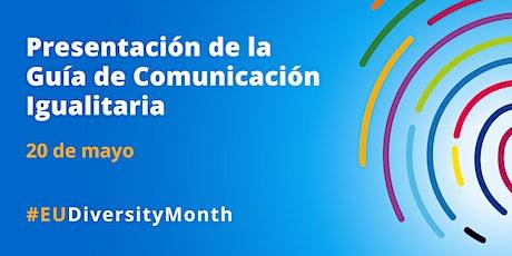 PRESENTACIÓN DE LA GUÍA DE COMUNICACIÓN IGUALITARIA entradas