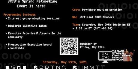 BWCB Spring Summit 2021 Tickets