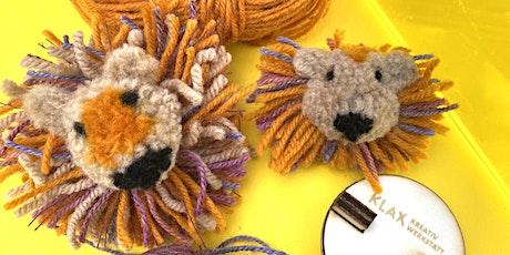 Bommel-Löwe selber machen - Tolle Ideen für Pompon-Tiere Tickets