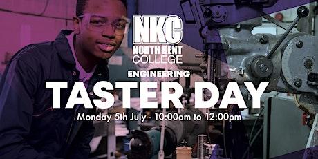 Taster Day - Engineering tickets