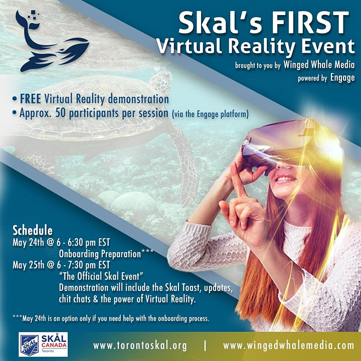 Skal's First Ever VIRTUAL REALITY EVENT image