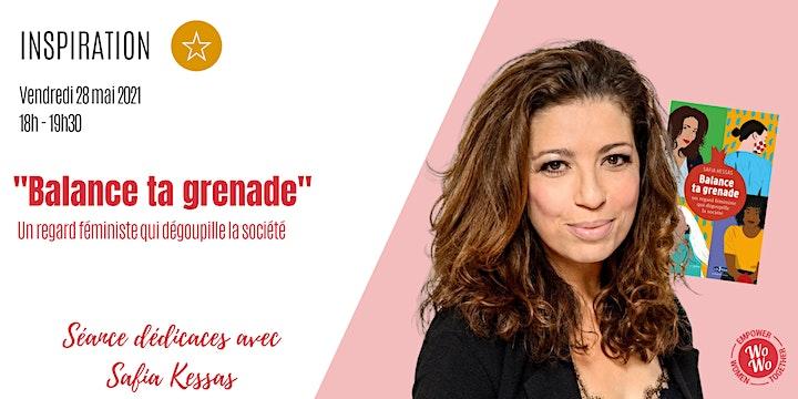 """Image pour """"Balance ta grenade"""" - Séance dédicaces avec Safia Kessas"""