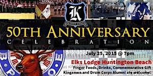 Kingsmen 50th Anniversary Celebration Part 2: Evening...
