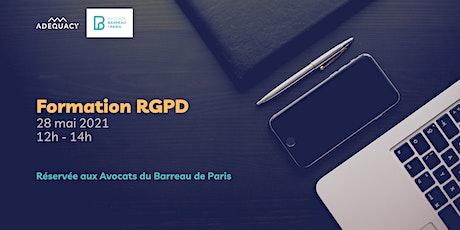 Conformité RGPD et profession d'avocat billets